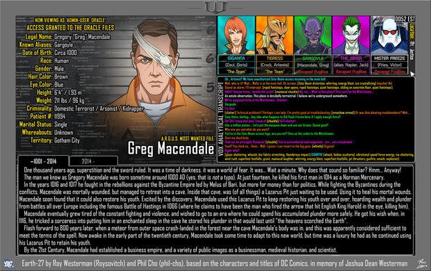 Greg Macendale 1