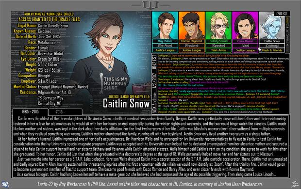 Caitlin Snow 1