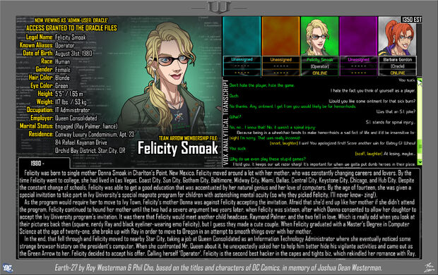 Felicity Smoak 1