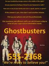 Ghostbusters Ad