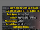 Oracle Files: Nyssa al Ghul 2