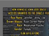 Oracle Files: Jenny Lee