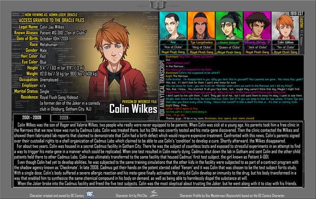 Colin Wilkes 1