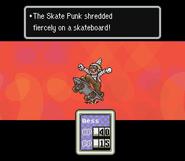 Skate punk battle