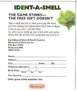 Indet-a-smell card