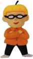 Orange Kid Clay
