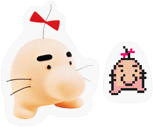 Mr Saturn Stickers SSBB