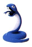 Snake Modello d'argilla - EarthBound Beginnings