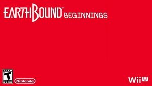 Mock EarthBound Beginnings Box art