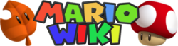 Mario Wiki - Wordmark