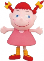 Pippi Clay Model
