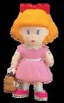Modelo de plastilina de Paula