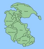 X-Pangaea continents