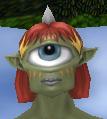 Intense female cyclops