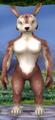 Athletic female bounder