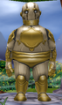 Rotund male clockwork