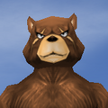Face-Intense Male-Ursine
