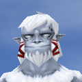 Face-Old Male-Yeti