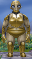 Rotund female clockwork
