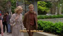 First Breath Title Card