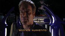 Boone's Awakening Title Card