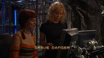 Grave Danger Title Card