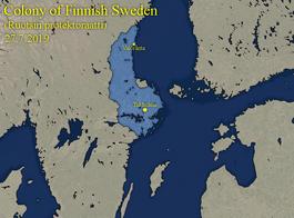 Finnish Sweden Map