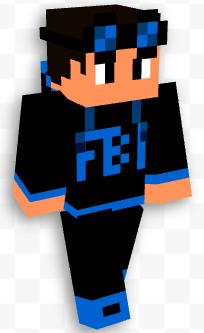 FBI Bro Skin 3D