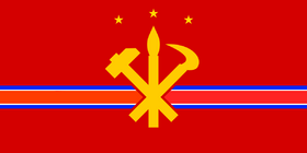 Pyongyang flag