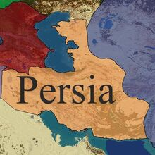 Persia Claim Map