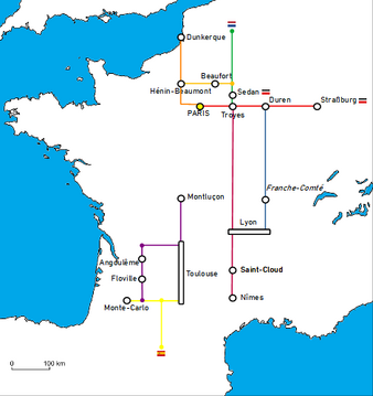 BBK Route map 812