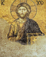 Christ-pantocrator-detail-of-deesis-mosaic-hagia-sophia-judgement-day-urft-valley-art