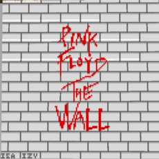 Pink Floyd The Wall Map Art