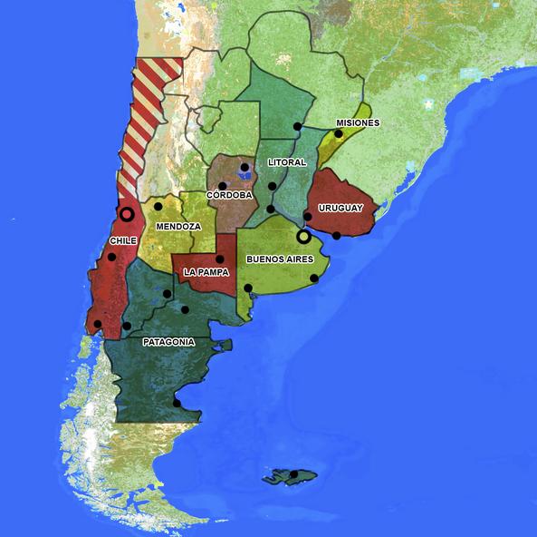 La plata regions hd