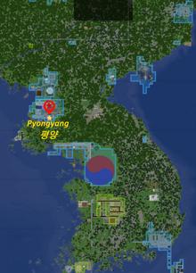 Carte de Corée 4