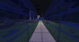 Roadway into STL (Blue Mirrors)