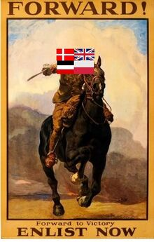 Ww1 cavalry poster