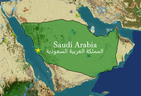 Saudiarabiamap