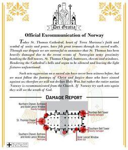 Excommunication of Norway