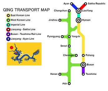Iceway map