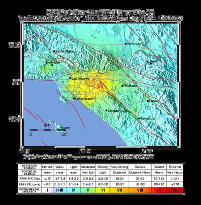 LA Earthquake July 29 2008