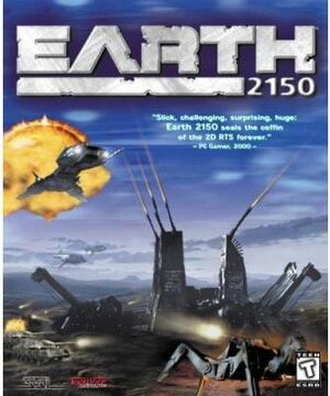 Earth 2150 boxart