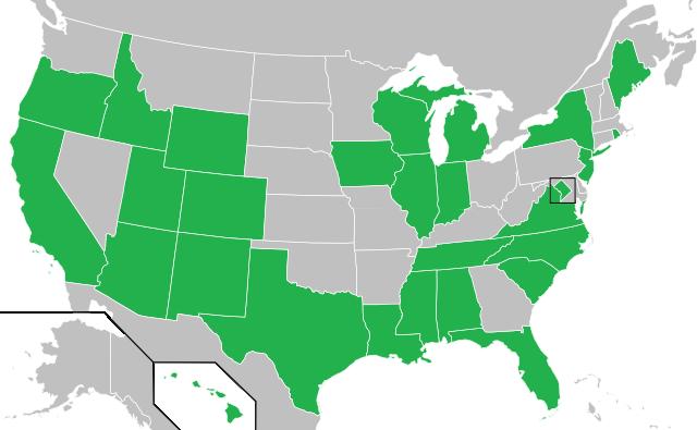USAVision 2013 map