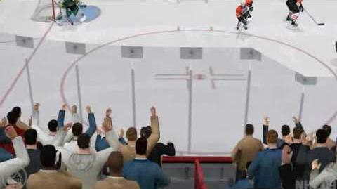 NHL09 OTP OT Winning Goal Assisted by Nuggy