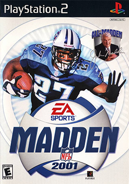 Madden NFL 2001 Coverart