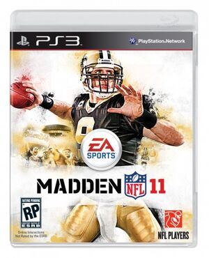 Madden 11 cover