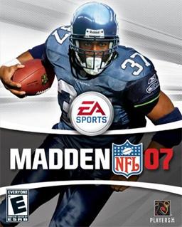 Madden NFL 07 Coverart