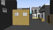Easties sketchup model alb sq from bus stop at vic rd