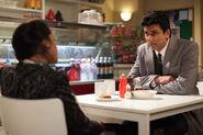Afia and Yusef Khan in Victoria Road Cafe (2011)
