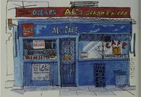 Al's Cafe Drawing